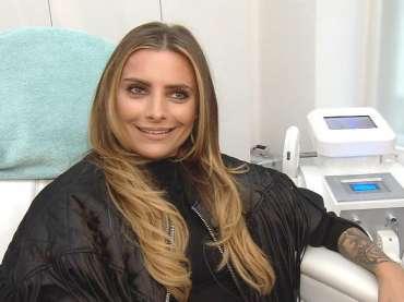 Sophia Thomalla zur Laserbehandlung bei Flawless